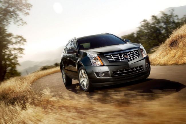 Обновленный Cadillac SRX 2013
