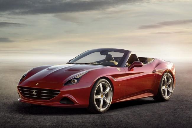 Новая Ferrari California T