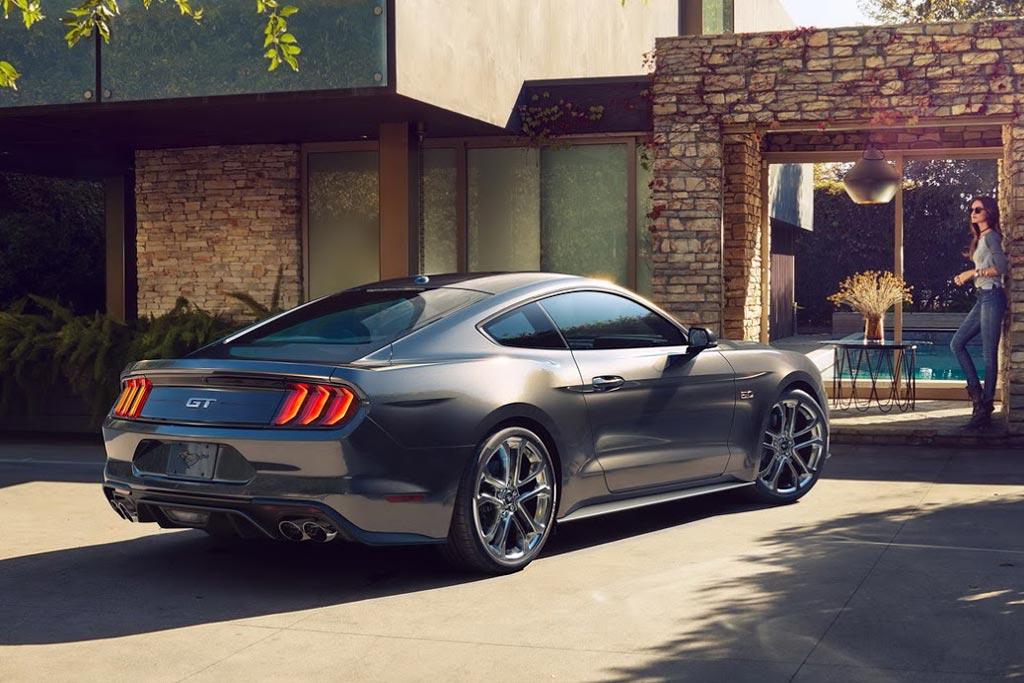 Рестайлинговый Ford Mustang 2019