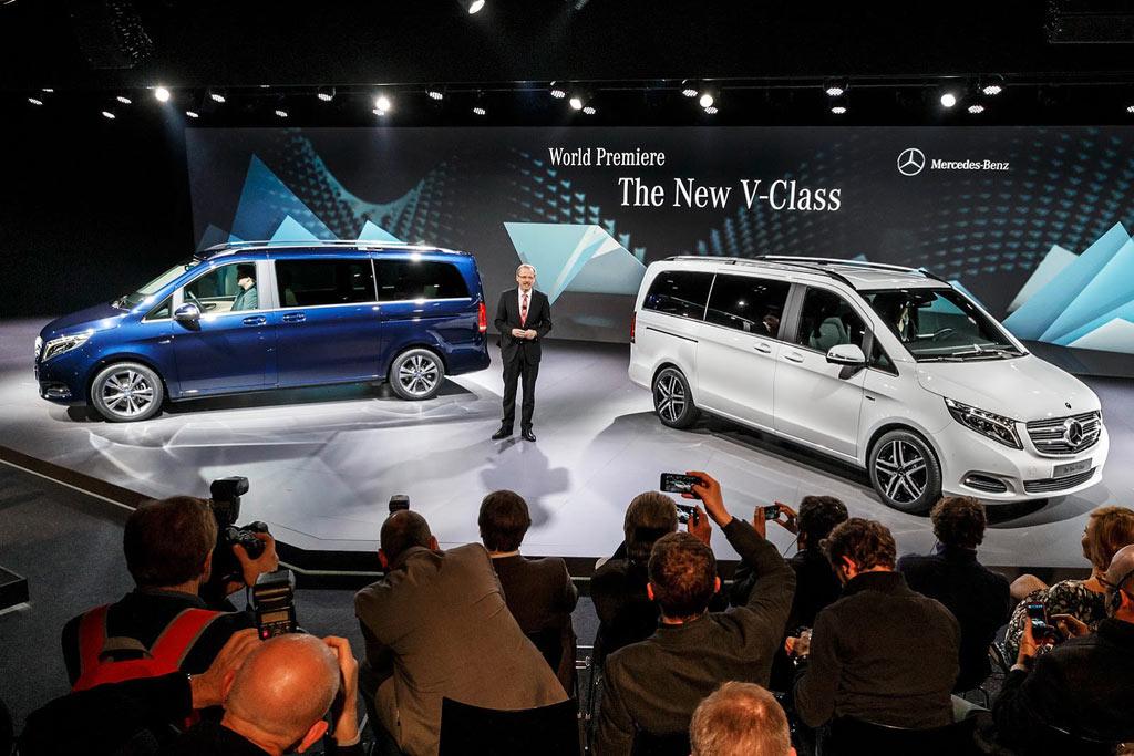 Фото нового Mercedes V-Class