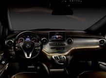 Фото салона Mercedes V-Class