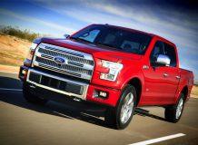 Фото нового Ford F-150 2015