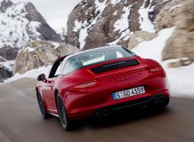 Фото Порше 911 Тарга 4 GTS 2015