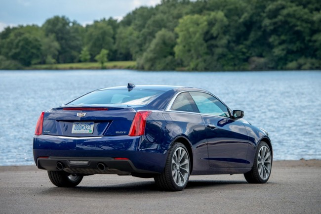 Обновленный Cadillac ATS Coupe 2015