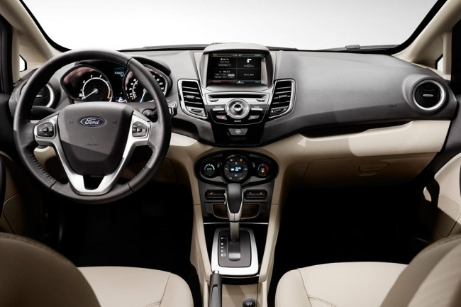 Салон Ford Fiesta 6