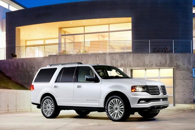 Новый Lincoln Navigator 2016