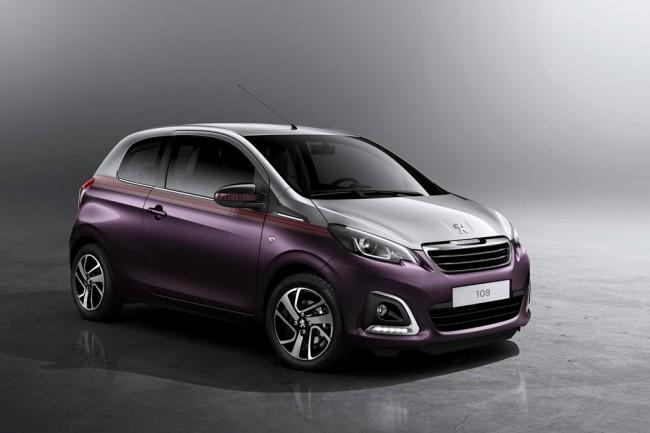 Новый хэтчбек Peugeot 108