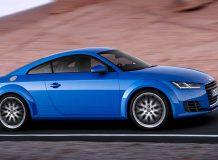 Новая Audi TT Coupe 3 поколения
