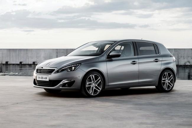 Новый Peugeot 308 II стал европейским автомобилем года 2014