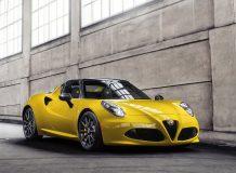 Alfa Romeo 4C Spider фото