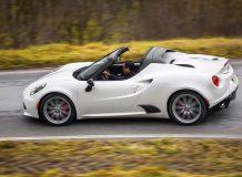 Новая Alfa Romeo 4C Spider 2017