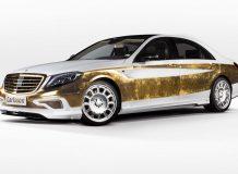 Покрытый золотом Мерседес S-класса от Carlsson