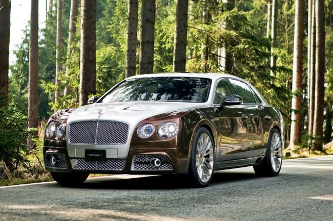 Bentley Flying Spur W12 от тюнинг ателье Mansory