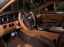 Тюнинг салона Bentley Flying Spur от Mansory