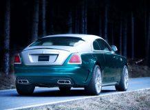 Обвес для Rolls-Royce Wraith от Mansory