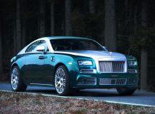 Диски на Rolls-Royce Wraith от Mansory
