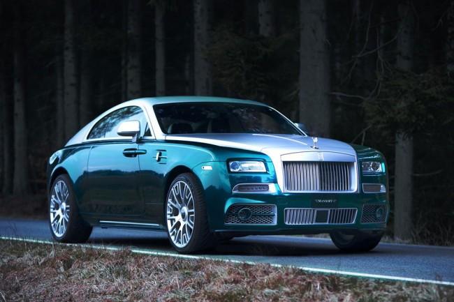 Rolls-Royce Wraith от тюнинг ателье Mansory