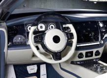 Тюнинг салона Rolls-Royce Wraith от Mansory