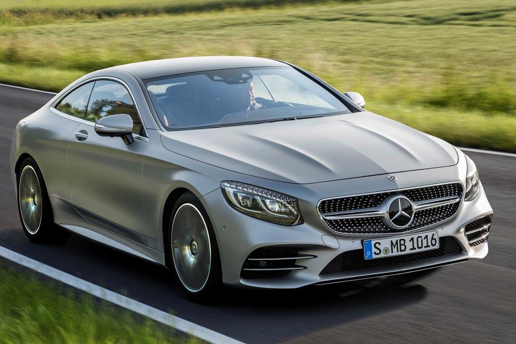 Обновленный Mercedes S-Class Coupe 2018