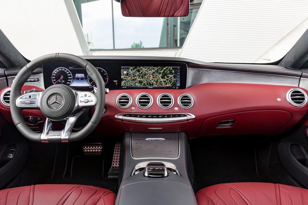 Салон нового S-Class Coupe C217