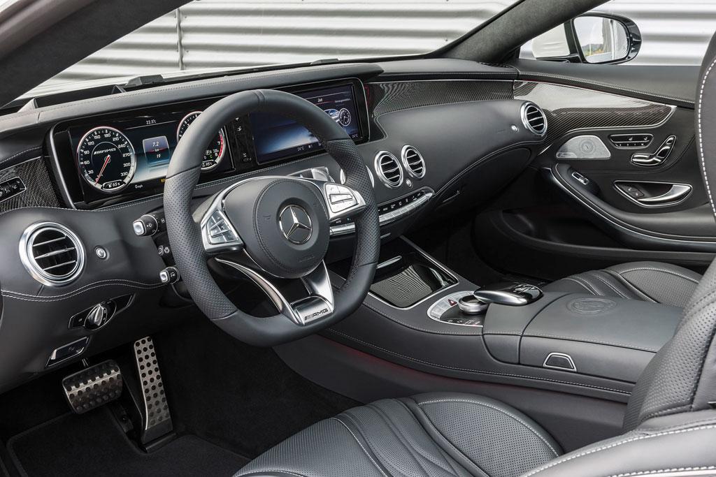Фото салона Мерседес S63 AMG Coupe
