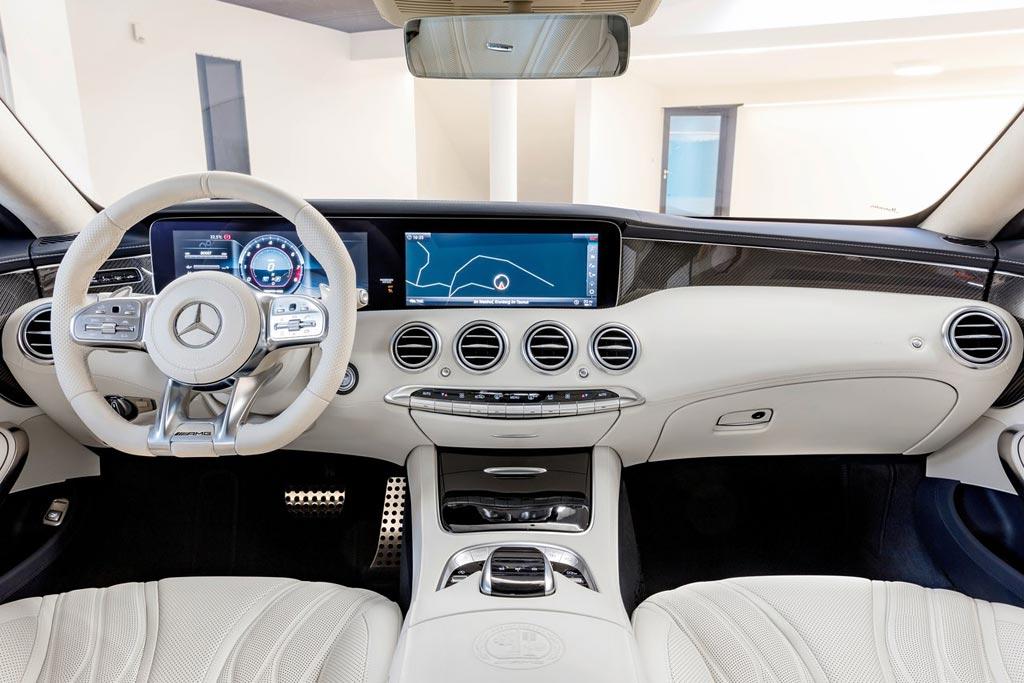 Салон Мерседес S63 AMG Coupe