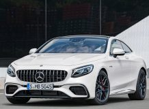 Фото Mercedes-Benz S 63 Coupe 2018 в новом кузове