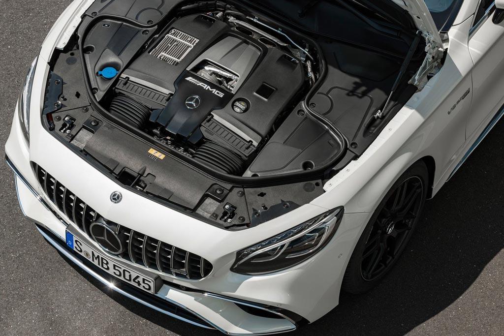 4,0-литровый V8 biturbo для S 63 Coupe