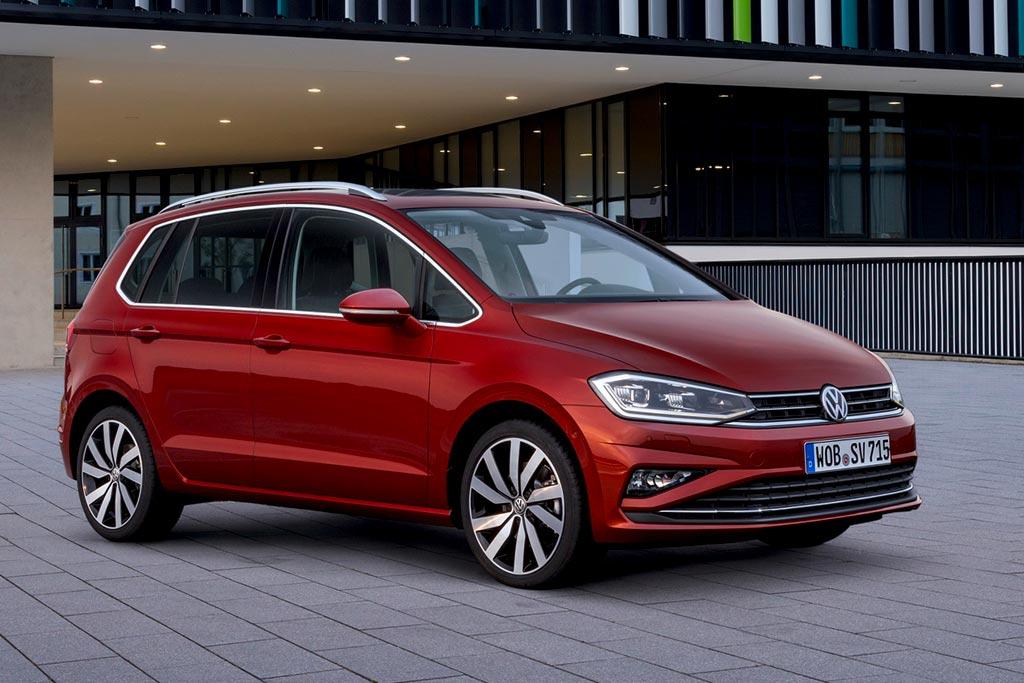 Обновленный Volkswagen Golf Sportsvan 2018