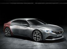 Фото концепта Peugeot Exalt
