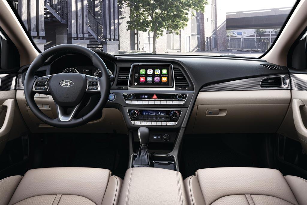 Салон Hyundai Sonata 7