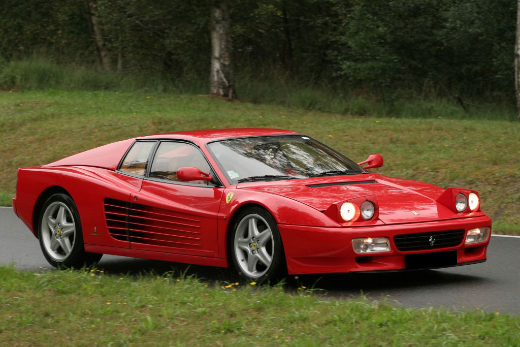 Ferrari 512 TR фото