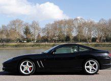 Черный Ferrari 550 Maranello