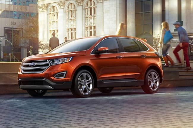 Новый Ford Edge 2016