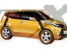 Рендер будущего паркетника Toyota