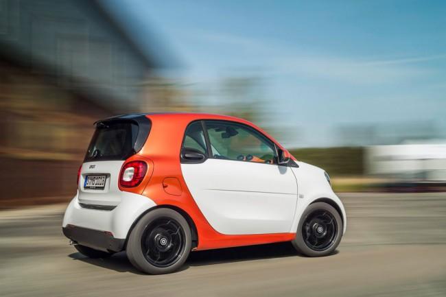 Smart ForTwo III в новом кузове