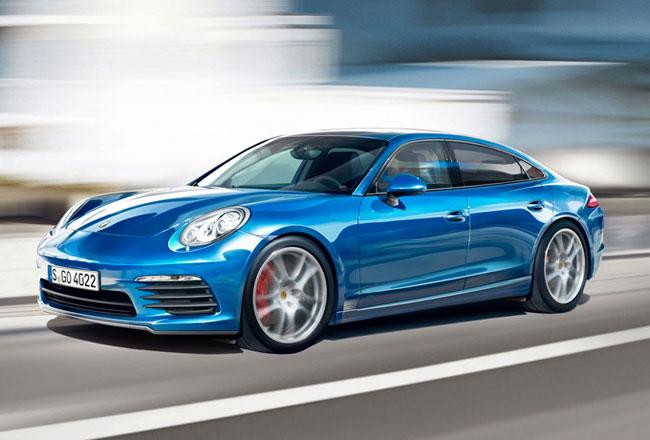 Рендер Porsche Pajun