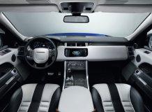 Фото салона Range Rover Sport SVR