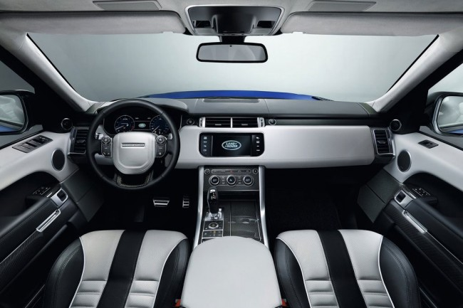 Салон Range Rover Sport SVR