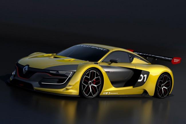 Гоночное купе Renault R.S.01