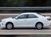 Новая Toyota Camry V50 2017 фото