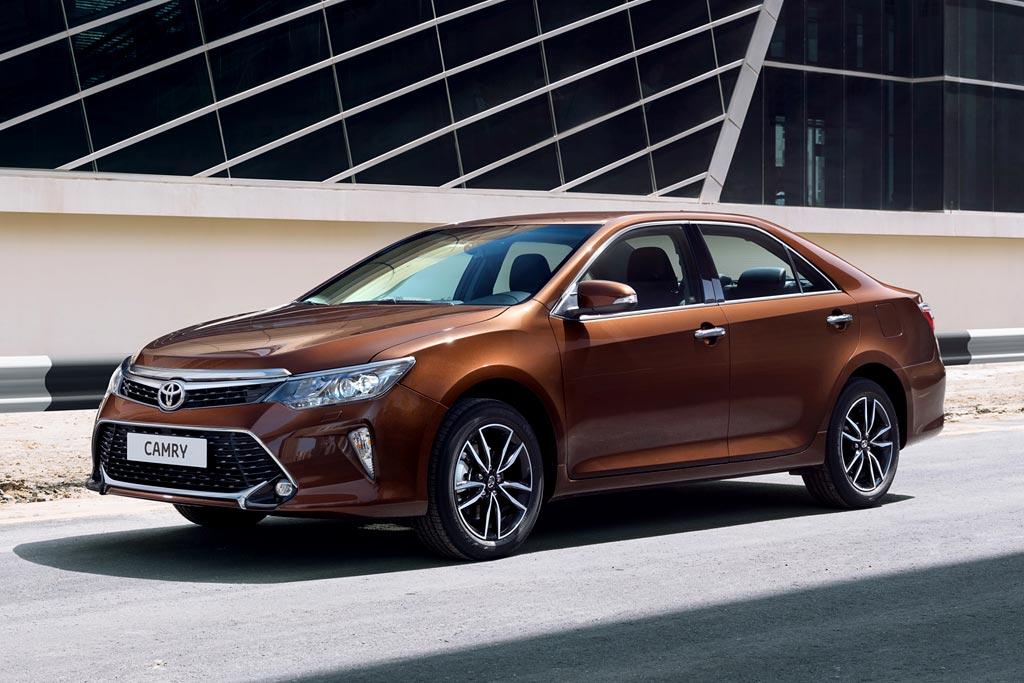 Обновленная Toyota Camry 2017