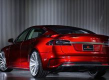 Фото тюнинг Tesla Model S от Saleen
