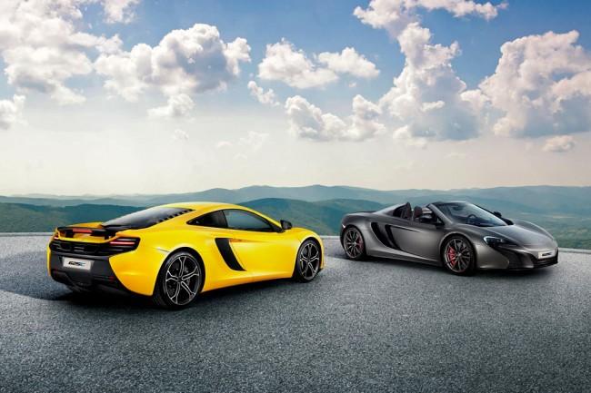 Купе и спайдер McLaren 625C