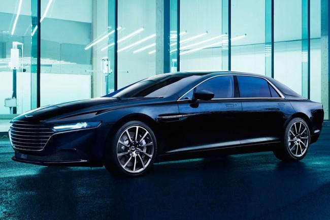 Роскошный седан Aston Martin Lagona