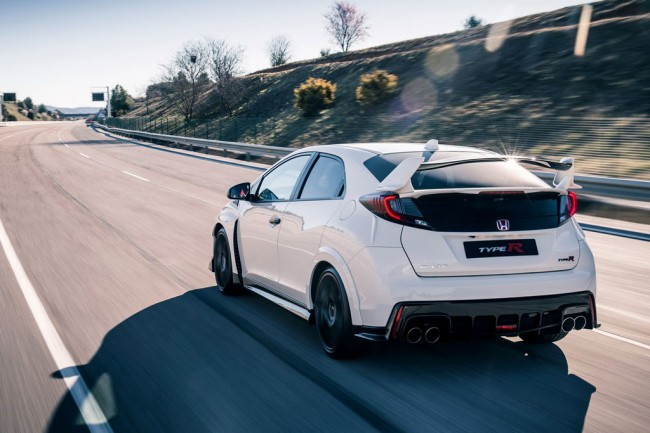 Хонда Цивик Type R в новом кузове