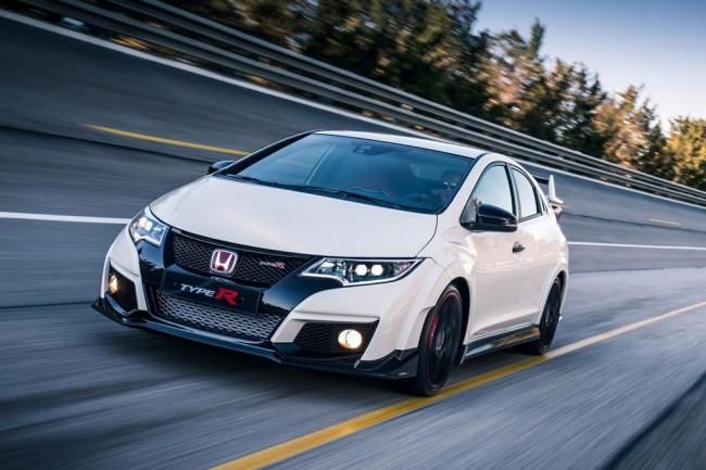 Новая Honda Civic Type R 2016