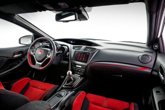 Салон Honda Civic Type R