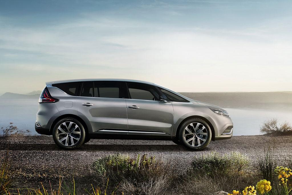 Фото нового Renault Espace V 2016