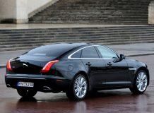 Нынешний Jaguar XJ (X351)